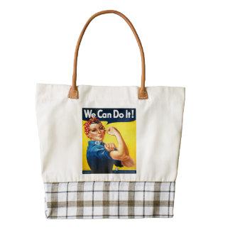 Podemos hacerlo Rosie el remachador Bolsa Tote Zazzle HEART