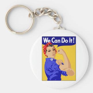 Podemos hacerlo - Rosie el remachador Llavero Redondo Tipo Pin