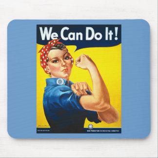 ¡Podemos hacerlo! Rosie el remachador Mousepad