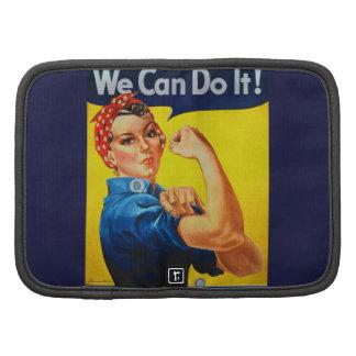 Podemos hacerlo Rosie el remachador Organizador