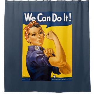 ¡Podemos hacerlo! Rosie el vintage WW2 del Cortina De Baño