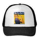 ¡Podemos hacerlo! Rosie el vintage WW2 del remacha Gorras