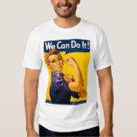 ¡Podemos hacerlo! Rosie el vintage WW2 del remacha Playera