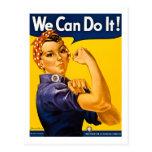 ¡Podemos hacerlo! Rosie el vintage WW2 del Postales