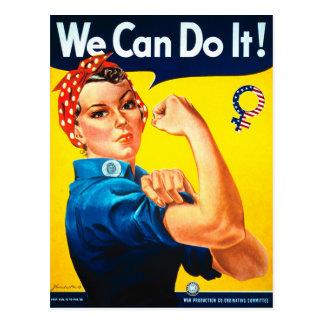 ¡Podemos hacerlo! Rosie la postal del remachador