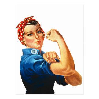 Podemos hacerlo Rosie que las mujeres del Postales