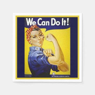 ¡Podemos hacerlo! Servilletas De Papel