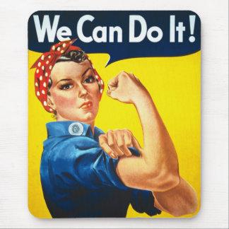 ¡Podemos hacerlo! Tapete De Ratones