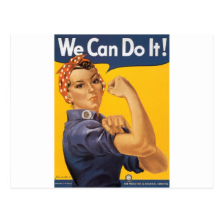¡Podemos hacerlo! Tarjeta Postal