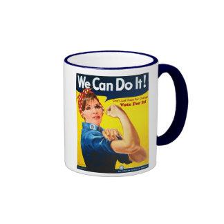 Podemos hacerlo - taza de Sarah Palin