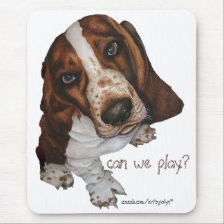 ¿Podemos jugar? , Cojín de ratón Tapetes De Ratón