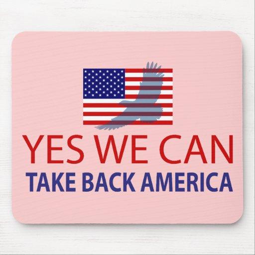 Podemos retirar sí América Tapetes De Ratón