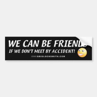 PODEMOS SER FRIENDS-SMILEY PEGATINA DE PARACHOQUE