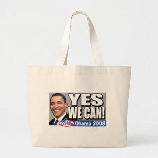¡Podemos sí! Bolso de Obama Bolsa De Tela Grande