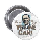 ¡Podemos sí! Botón de Obama Pins