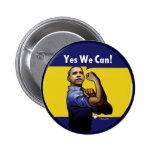 ¡Podemos sí! Botón Pin