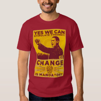 ¡Podemos sí! Camarada Obama Spoof Shirt Remeras