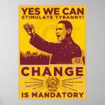 PODEMOS SÍ: Estimule el poster de la tiranía