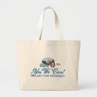 ¡Podemos sí! Hillary para presidente Bag Bolsas
