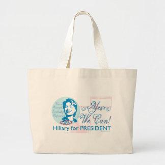 ¡Podemos sí! Hillary para presidente Bag Bolsas De Mano