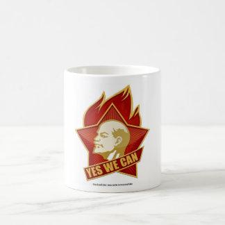 Podemos sí Lenin Taza