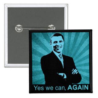 Podemos sí, OTRA VEZ - presidente Barack Obama 201 Pins