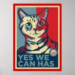 Podemos sí tenemos impresión de LOLCAT Impresiones