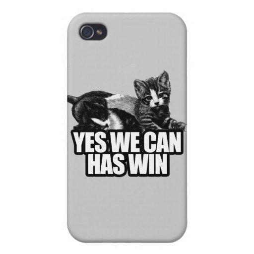 PODEMOS SÍ TENEMOS WIN.png iPhone 4/4S Fundas