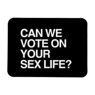 PODEMOS VOTAMOS SOBRE SU VIDA SEXUAL IMANES