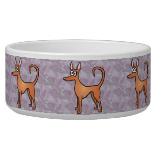 Podenco dog bowl