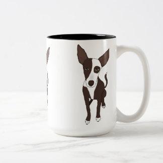 Podenco Little Stuart Two-Tone Coffee Mug