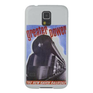 Poder 1938 del ferrocarril de New Haven mayor Carcasas Para Galaxy S5