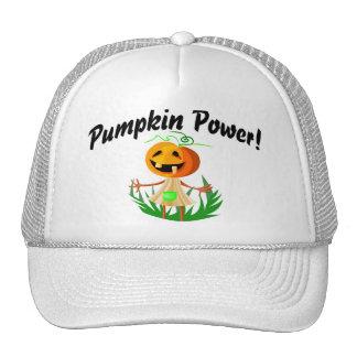 Poder 2 de la calabaza gorras