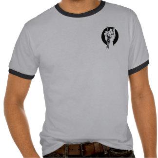 Poder 2 del hueso del ritmo camiseta