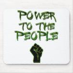 ¡Poder a la gente! Alfombrillas De Ratones