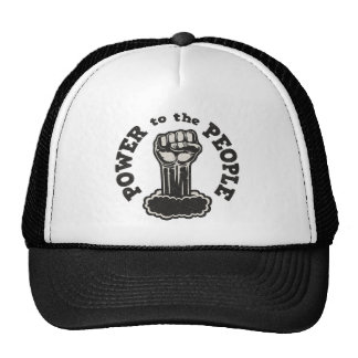 Poder a la gente gorras