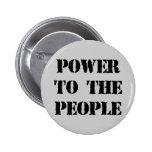 Poder a la gente pin