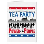 Poder a la gente tarjetas