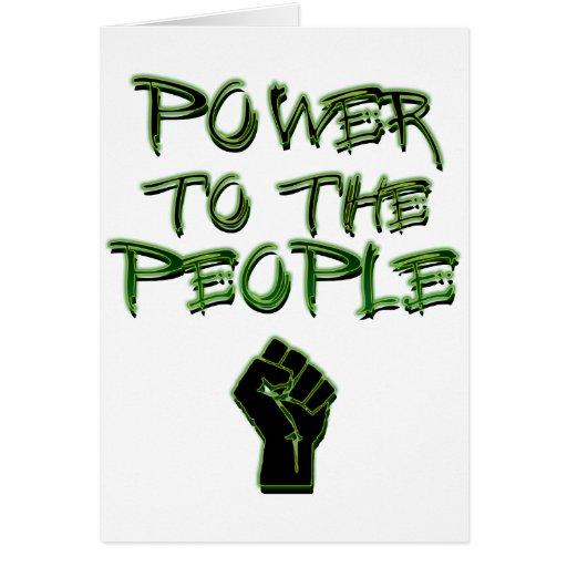 ¡Poder a la gente! Tarjetón