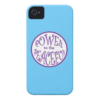 Poder a los diseños pacíficos Case-Mate iPhone 4 protectores
