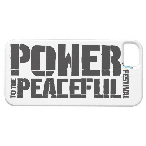 Poder al festival pacífico iPhone 5 funda