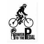 Poder al pedal postal