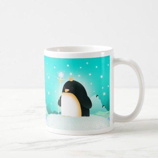 Poder al pingüino - taza
