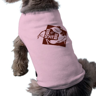 Poder al pitbull camisetas de perrito