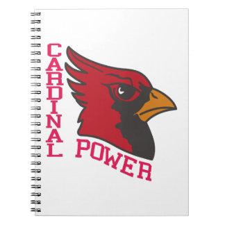 Poder cardinal libreta espiral