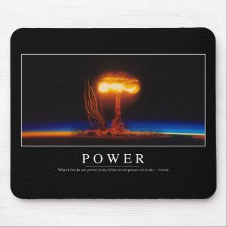 Poder: Cita inspirada Mousepads
