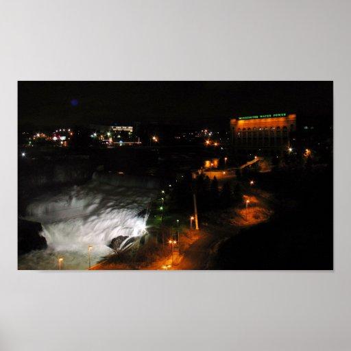 Poder de agua de Washington Póster