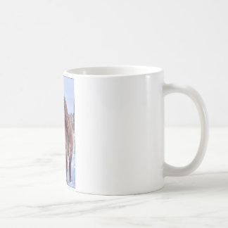 Poder de caballo islandés taza básica blanca