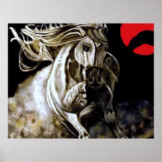 Poder de caballo impresiones