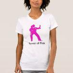 Poder de Cami rosado Camiseta